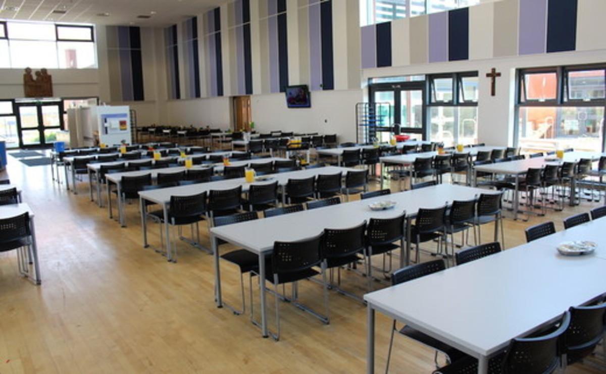 Dining Area  - SLS @ St Marys Catholic Academy (Blackpool) - Lancashire - 1 - SchoolHire