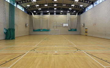 Sports Hall  - SLS @ St Pius X Catholic High School - Rotherham - 1 - SchoolHire