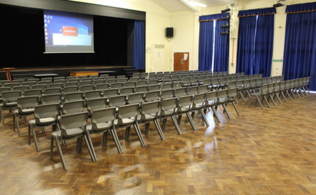 Main Hall  - SLS @ St Pius X Catholic High School - Rotherham - 1 - SchoolHire