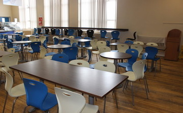 Dining Room - SLS @ St Pius X Catholic High School - Rotherham - 1 - SchoolHire