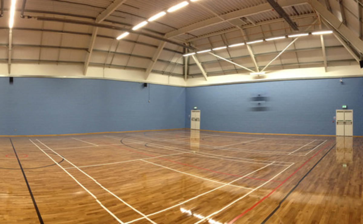Sports Hall  - SLS @ Sutton Coldfield Grammar School for Girls - Birmingham - 1 - SchoolHire