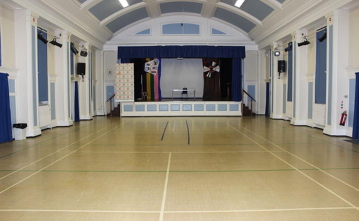 Main Hall  - SLS @ Sutton Coldfield Grammar School for Girls - Birmingham - 1 - SchoolHire