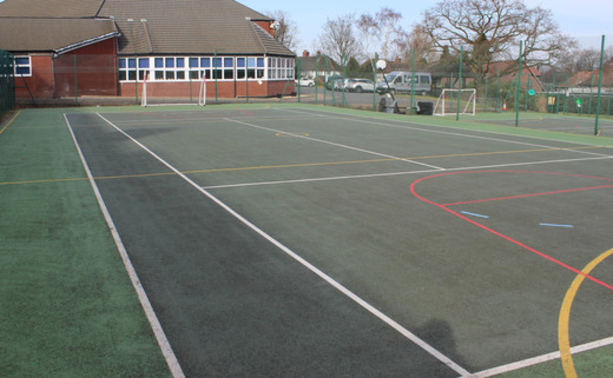 Tarmac Area - Multi-Use Games Area - SLS @ Sutton Coldfield Grammar School for Girls - Birmingham - 1 - SchoolHire