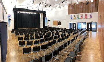 Main Hall - St John Bosco College - Wandsworth - 2 - SchoolHire