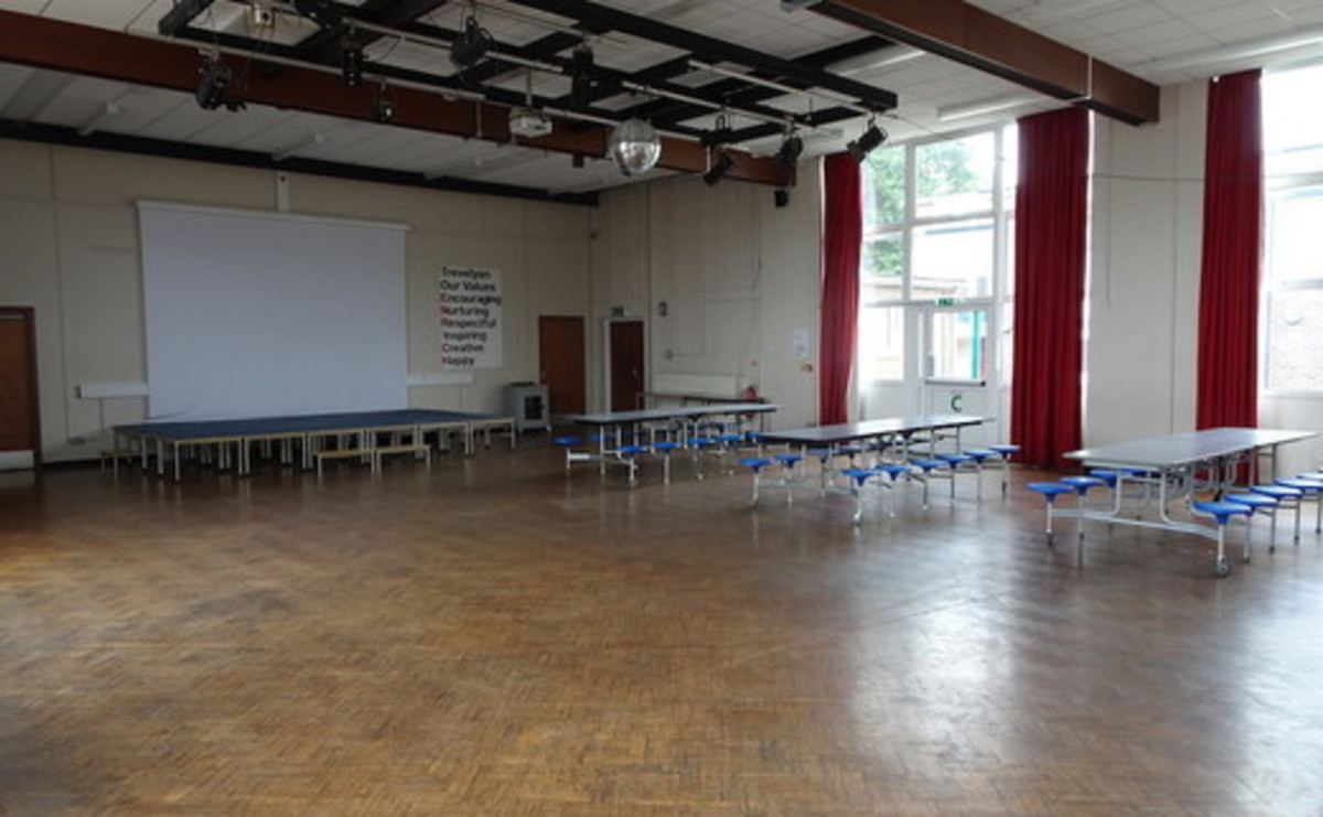 Main Hall  - SLS @ Trevelyan Middle School - Windsor and Maidenhead - 1 - SchoolHire