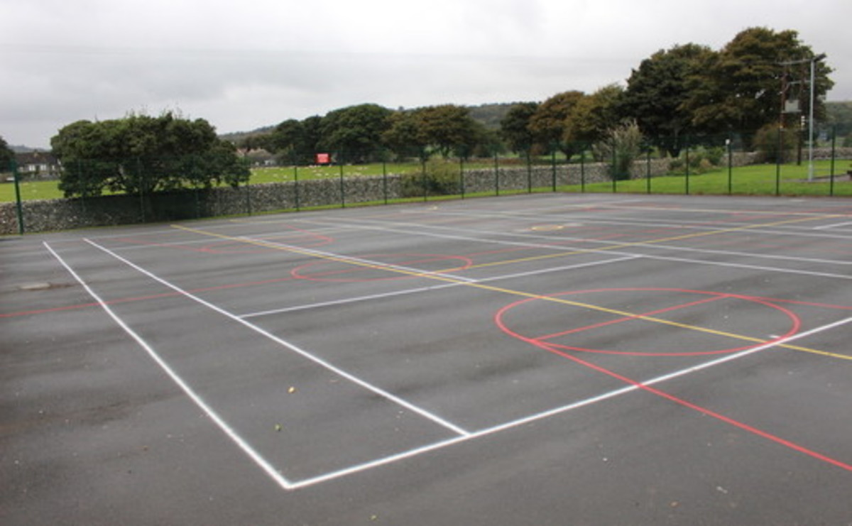 Tarmac Area - Multi-Use Games Area  - SLS @ Upper Wharfedale School - North Yorkshire - 1 - SchoolHire