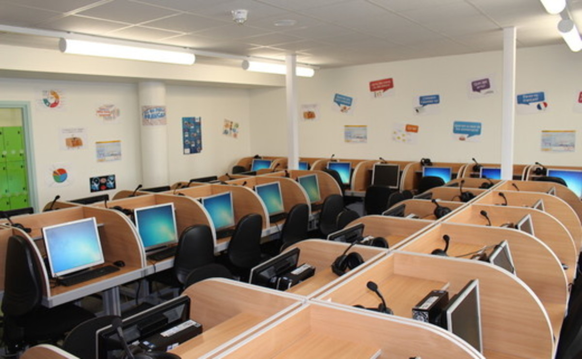 Specialist Classroom - Language Lab  - SLS @ Ark Putney Academy - Wandsworth - 1 - SchoolHire