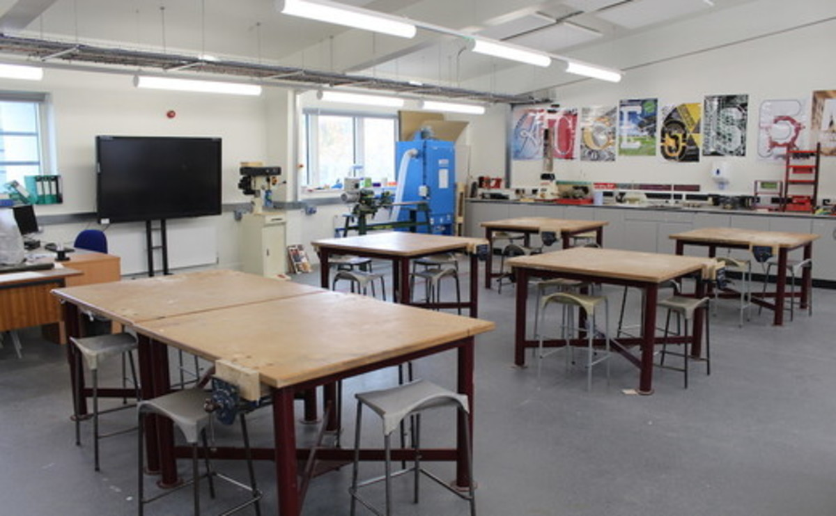 Specialist Classroom - DT Classroom - SLS @ Ark Putney Academy - Wandsworth - 1 - SchoolHire
