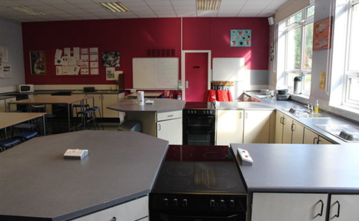 Cookery Room - SLS @ Westwood College - Staffordshire - 1 - SchoolHire