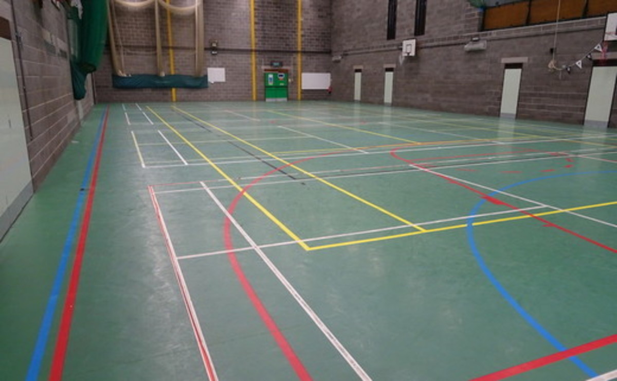 Sports Hall  - SLS @ Winstanley College - Wigan - 1 - SchoolHire