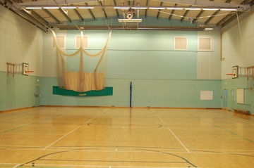 Sports Hall - Framingham Earl High School - Norfolk - 1 - SchoolHire