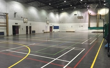 Sports Hall  - SLS @ Woodhey High School - Bury - 1 - SchoolHire