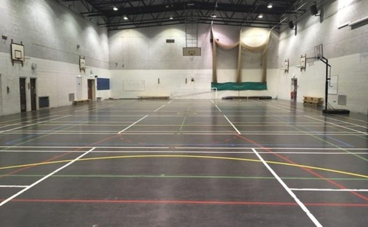 Sports Hall  - SLS @ Woodhey High School - Bury - 2 - SchoolHire