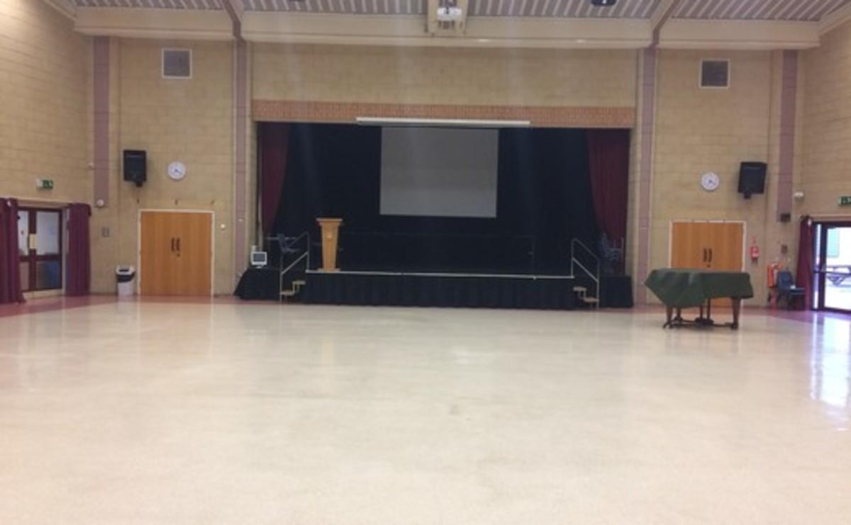 Main Hall  - SLS @ Woodhey High School - Bury - 1 - SchoolHire