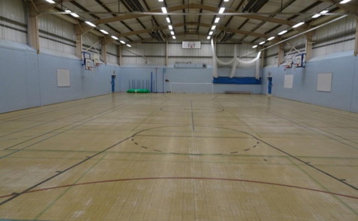 Sports Hall  - SLS @ Wykham Park Academy (Banbury Academy) - Oxfordshire - 1 - SchoolHire