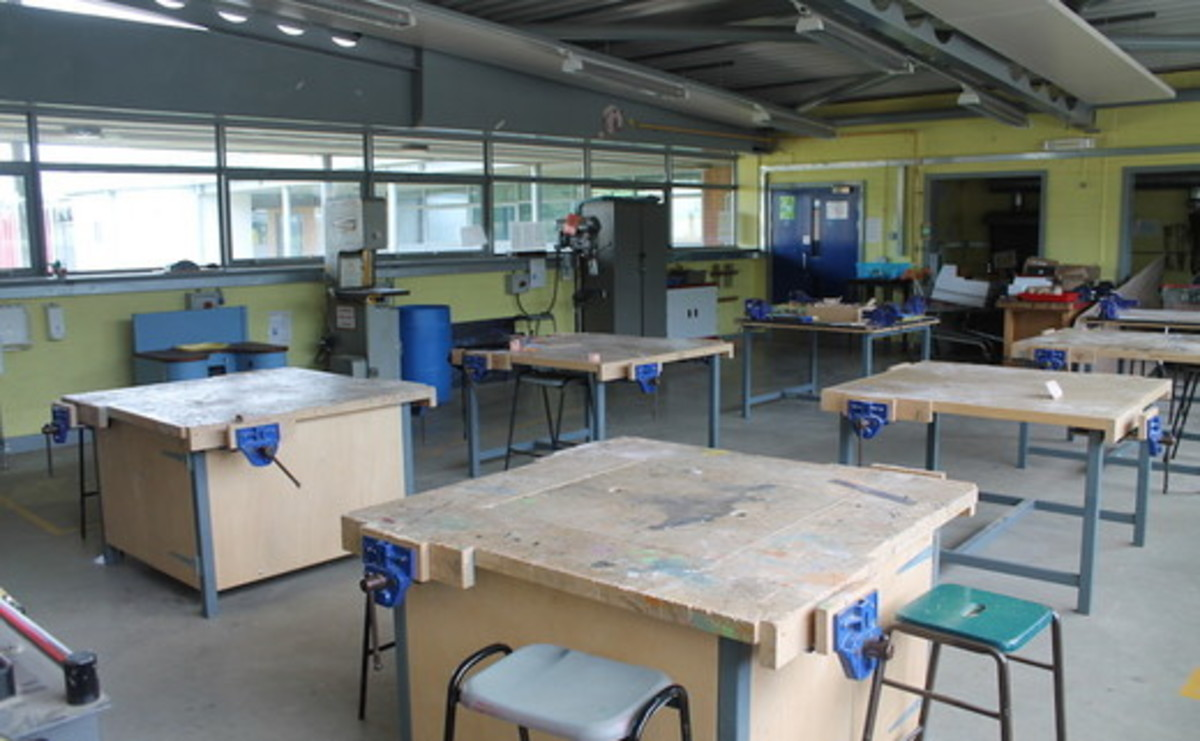 Design and Technology Room - SLS @ Wykham Park Academy (Banbury Academy) - Oxfordshire - 1 - SchoolHire