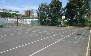 Tarmac Area - MUGA - SLS @ Ark Oval Primary Academy - Croydon - 1 - SchoolHire
