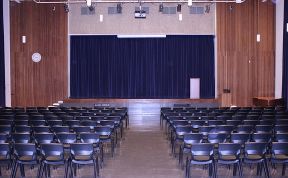 Main Hall  - SLS @ Haggerston School - Hackney - 1 - SchoolHire