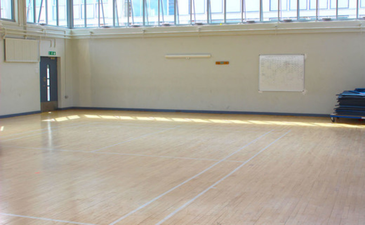 Gymnasium - North Gym  - SLS @ Haggerston School - Hackney - 1 - SchoolHire