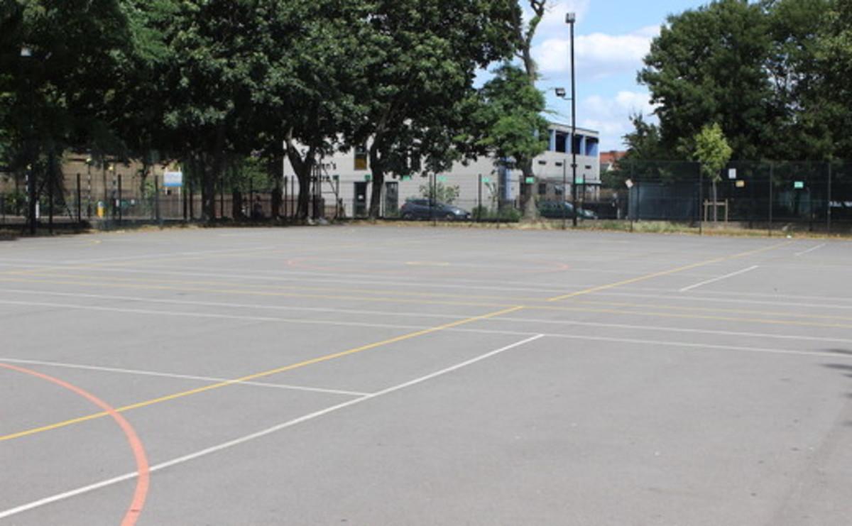 Tarmac Area - Netball Courts - SLS @ Haggerston School - Hackney - 1 - SchoolHire