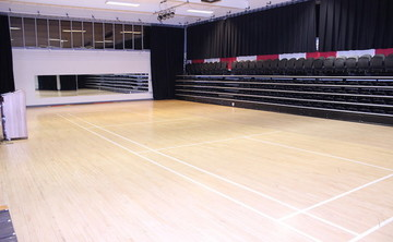 Gymnasium - South Gym - SLS @ Haggerston School - Hackney - 1 - SchoolHire