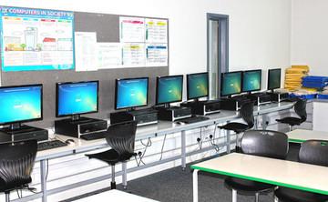 Specialist Classroom - IT Suite - SLS @ Haggerston School - Hackney - 1 - SchoolHire