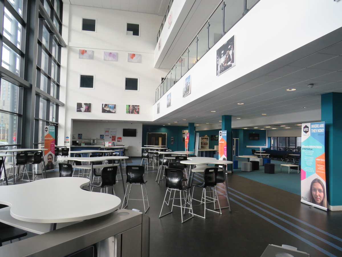 Atrium (The Cauldron)  - UTC@MediaCityUK - Manchester - 1 - SchoolHire