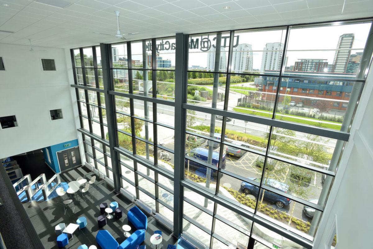 Atrium (The Cauldron)  - UTC@MediaCityUK - Manchester - 4 - SchoolHire