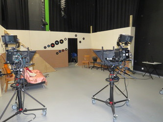 Film Studio 2 (With sound, light & camera equipment) - UTC@MediaCityUK - Manchester - 1 - SchoolHire