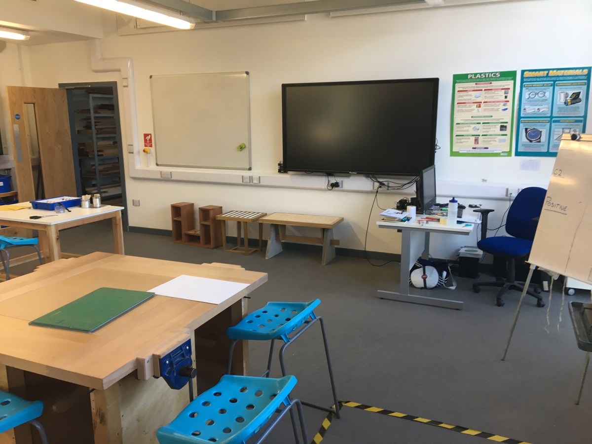 DT Room - Westfield Academy - Hertfordshire - 4 - SchoolHire