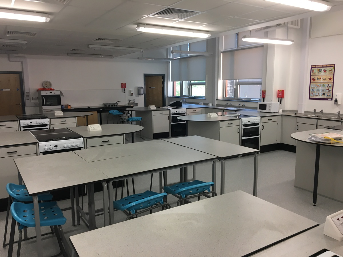 Food Technology Room - Westfield Academy - Hertfordshire - 2 - SchoolHire