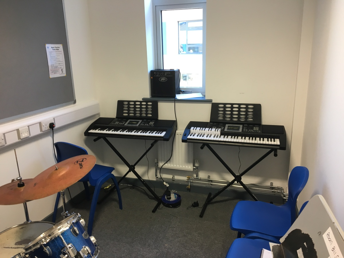 Music Practice Room - Westfield Academy - Hertfordshire - 1 - SchoolHire