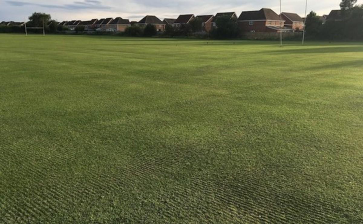 Grass Football Pitch - 11 v 11 - SLS @ Magdalen College School - Northamptonshire - 2 - SchoolHire