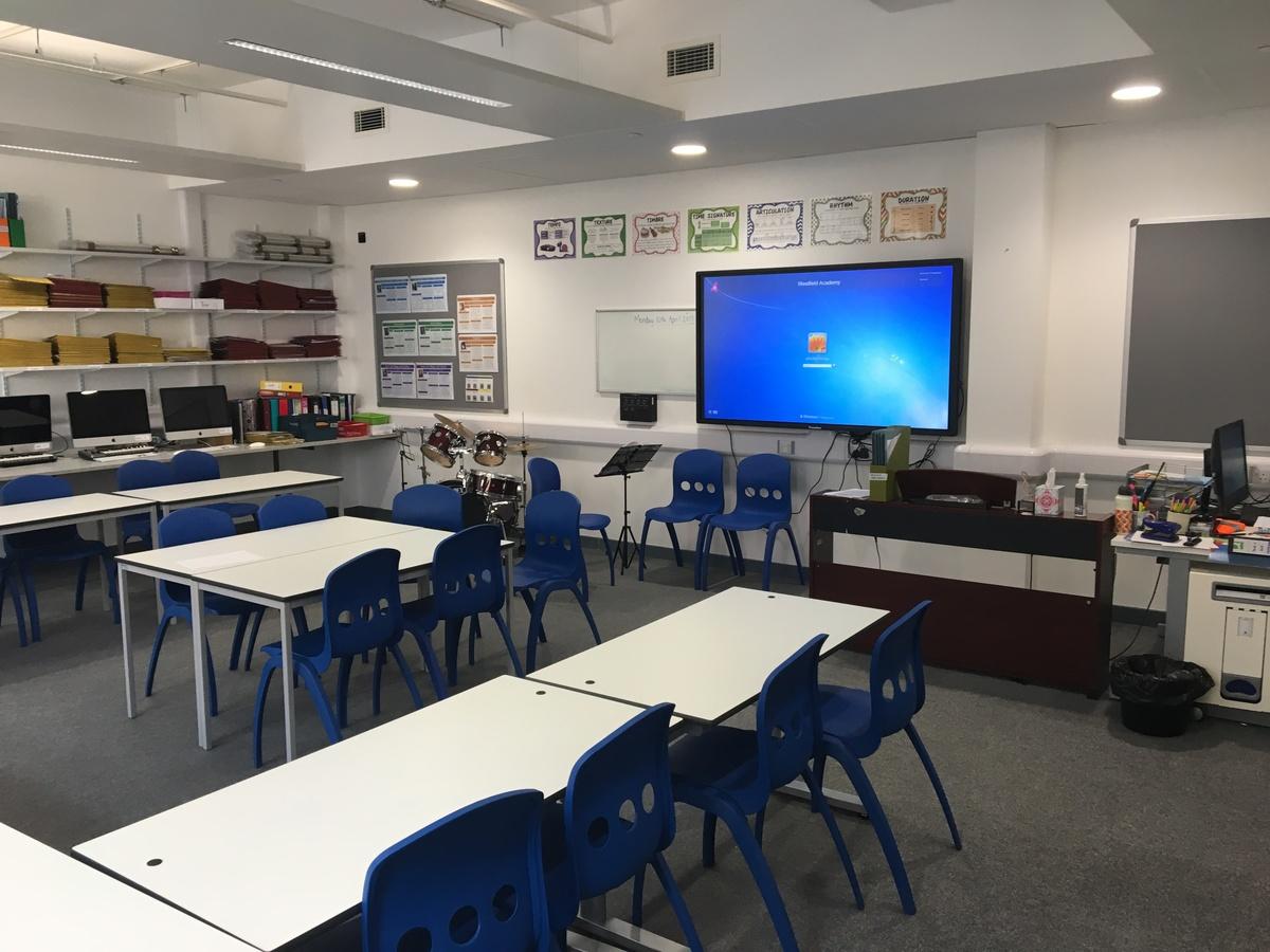 Music Room - Westfield Academy - Hertfordshire - 1 - SchoolHire
