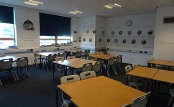 Classrooms - SLS @ Tudor Grange Academy Worcester - Worcestershire - 1 - SchoolHire