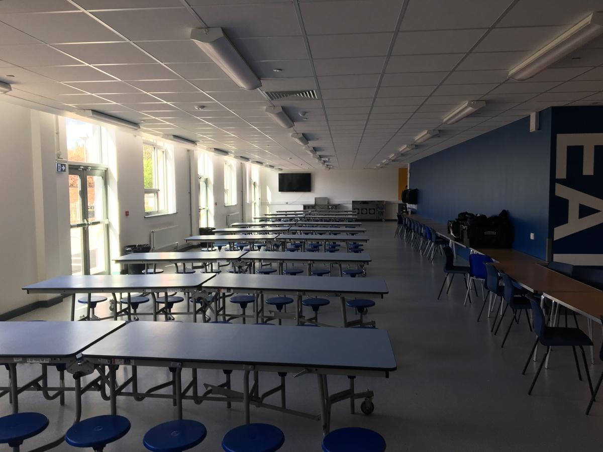 Dining Hall - Westfield Academy - Hertfordshire - 1 - SchoolHire