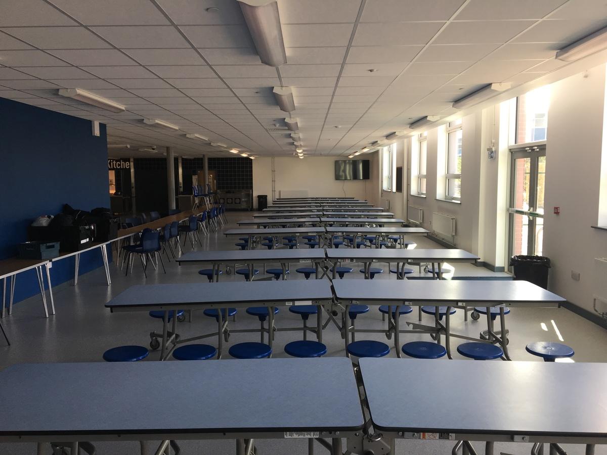 Dining Hall - Westfield Academy - Hertfordshire - 4 - SchoolHire