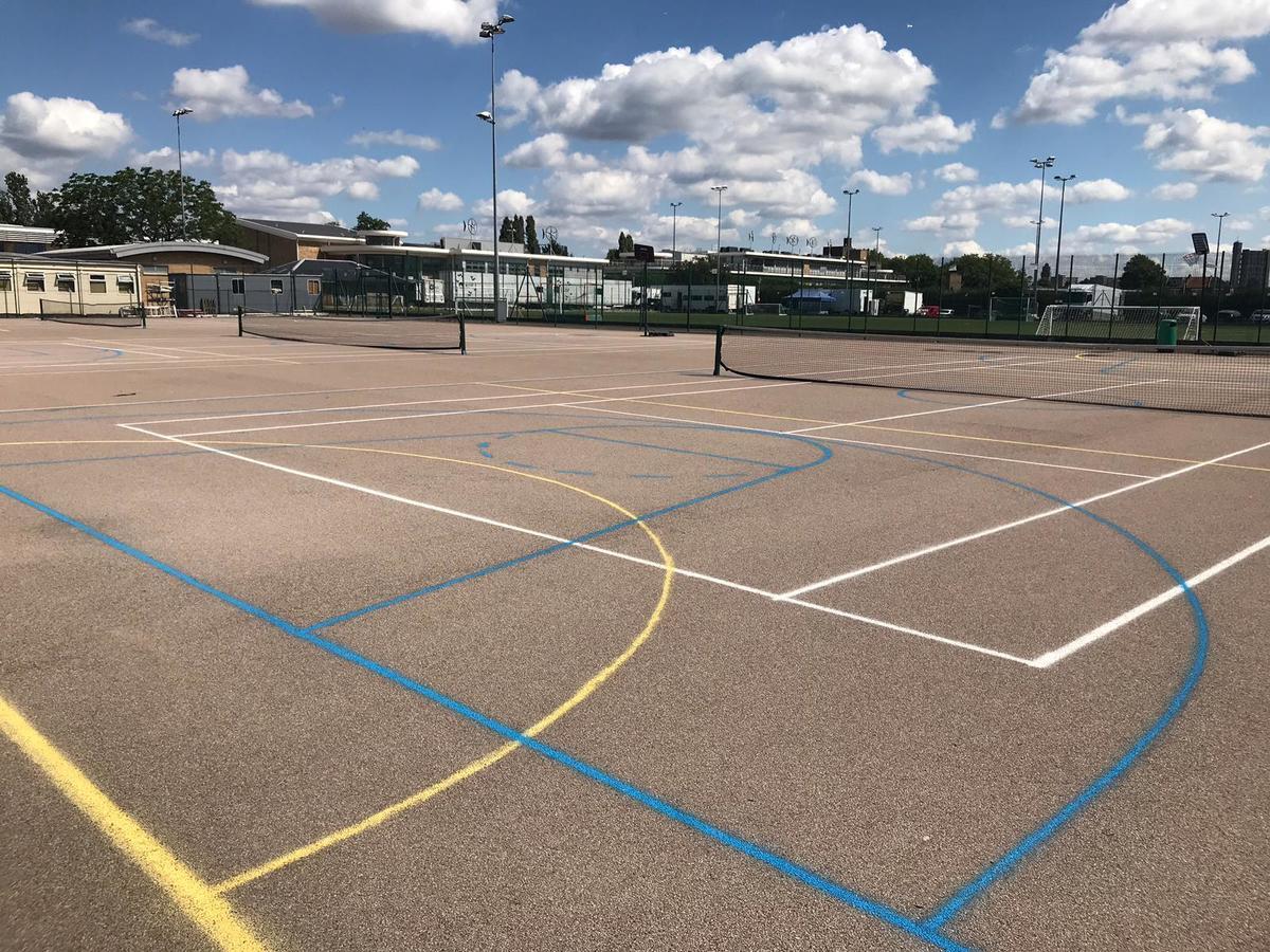 Tarmac Area  - SLS @ Ark Burlington Danes Academy - Hammersmith and Fulham - 4 - SchoolHire