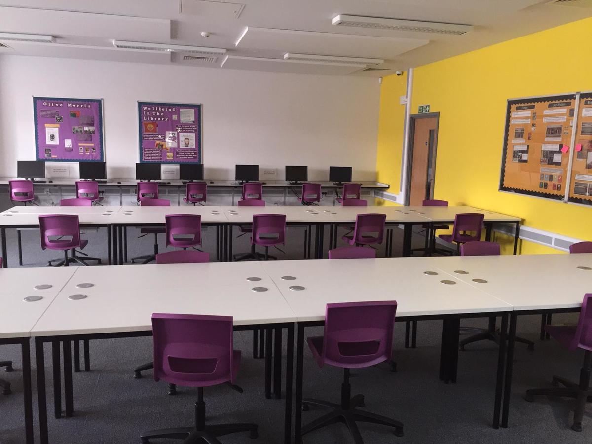 Library  - SLS @ Ark Elvin Academy - Brent - 4 - SchoolHire