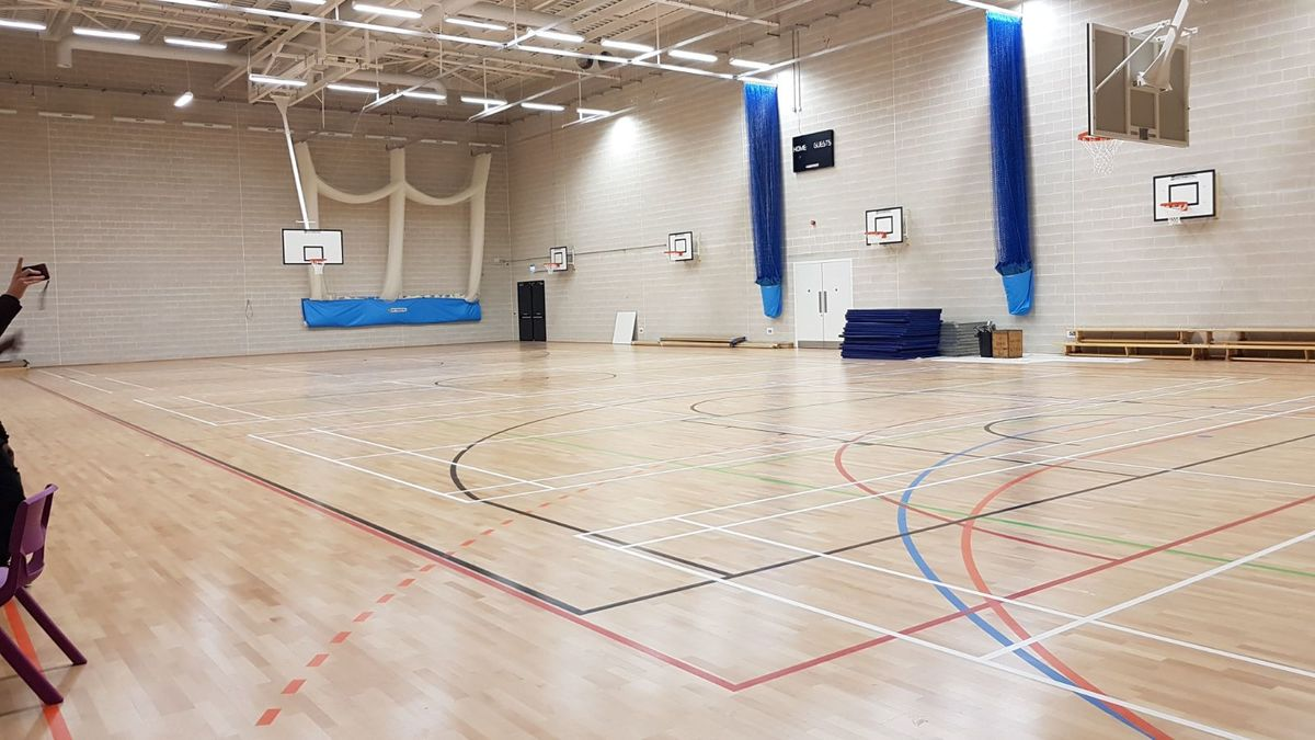 Sports Hall  - SLS @ Ark Elvin Academy - Brent - 3 - SchoolHire