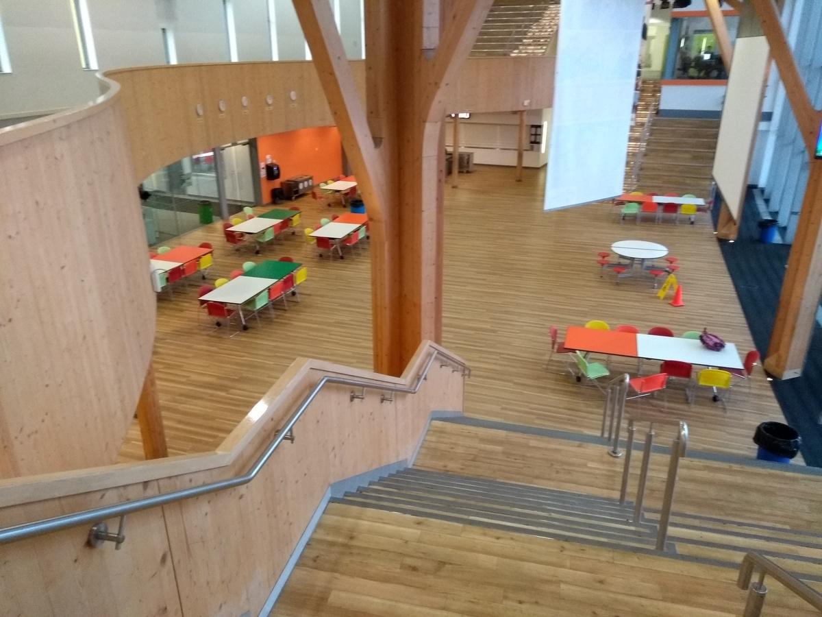 Atrium/ Main Hall - City Academy Norwich - Norfolk - 1 - SchoolHire