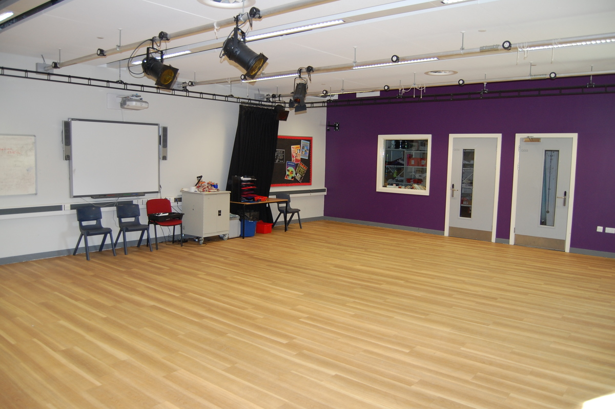Dance and Drama Studio 2 - City Academy Norwich - Norfolk - 2 - SchoolHire