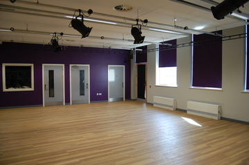 Dance and Drama Studio 2 - City Academy Norwich - Norfolk - 1 - SchoolHire