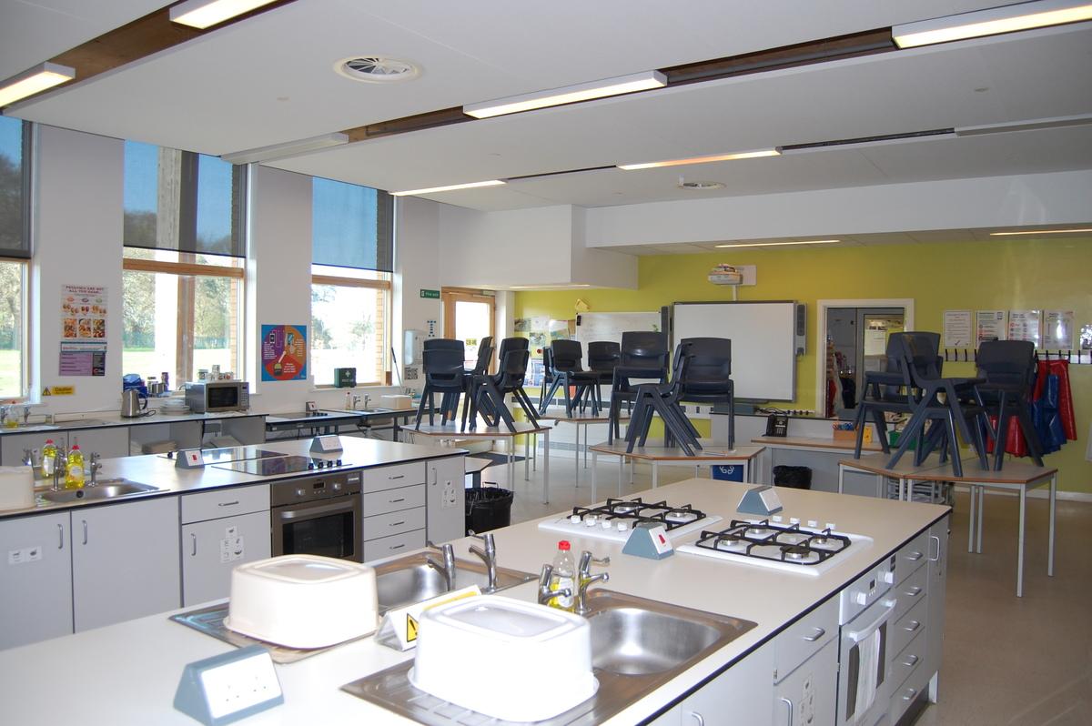 Food Technology Room - City Academy Norwich - Norfolk - 1 - SchoolHire