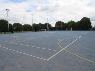 Blue Pitch - Heston Community School - Hounslow - 1 - SchoolHire