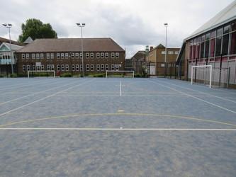 Blue Pitch - Heston Community School - Hounslow - 2 - SchoolHire