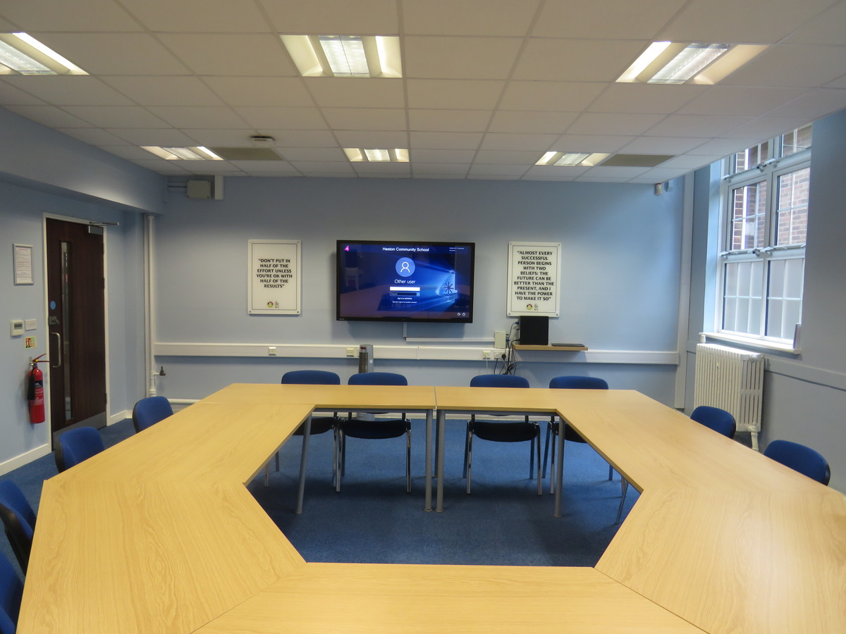 Conference Room CR1 - Heston Community School - Hounslow - 1 - SchoolHire