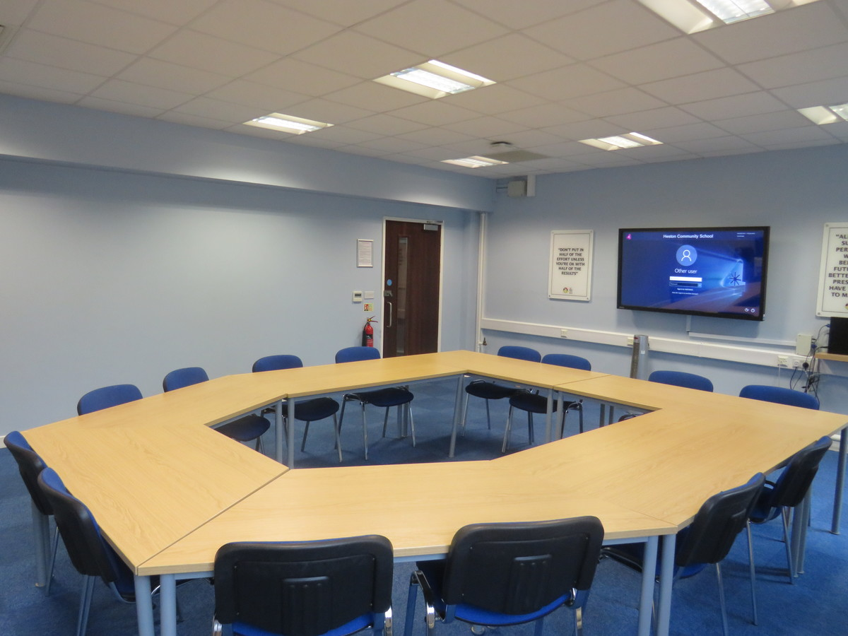 Conference Room CR1 - Heston Community School - Hounslow - 3 - SchoolHire