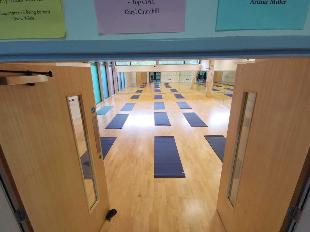 Dance Studio  - SLS @ Westwood College - Staffordshire - 2 - SchoolHire