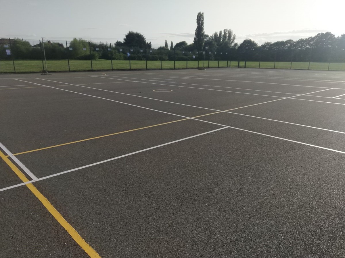 Tarmac Area - Multi Use Games Area - SLS @ Tudor Grange Academy Worcester - Worcestershire - 1 - SchoolHire
